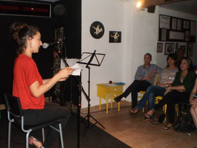 """Marta Delgado [EME], leyendo su """"Hubo un tiempo"""""""
