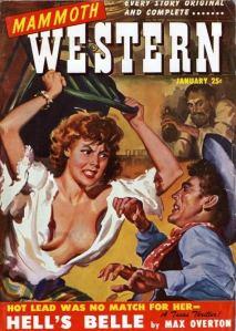 Escribir un libro pulp (1): Escribiendo un western