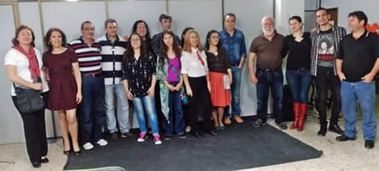Participantes homenaje